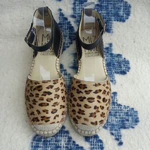 Miz Mooz Shoes - new MIZ MOOZ 7 leopard espadrilles sneakers shoes